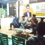 Reses di Bukit Barisan, Tyo: Warga Kampung Jawa Minta di Sediakan Hidran Air