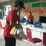 Matikan Virus Covid 19 RSUD Taman Husada Rutin Semprot Disinfektan